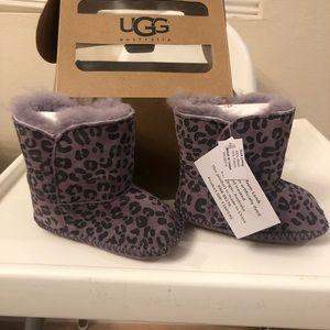 UGG Kids Cassie Leopard (Infant/Toddler)Bootie